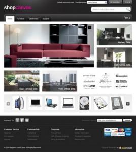 HT Hellocanvas Magento B2C高级商城主题模板免费下载