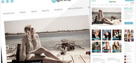 Aight Shop 创意服饰购物商城Opencart主题集成wordpress博客[更新至v1.0.1][赞]