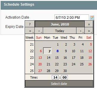 推荐Magento插件:Magento1.4的定时激活和终止激活产品插件