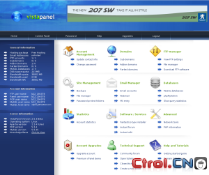 Vista Panel : Free hosting cpanel