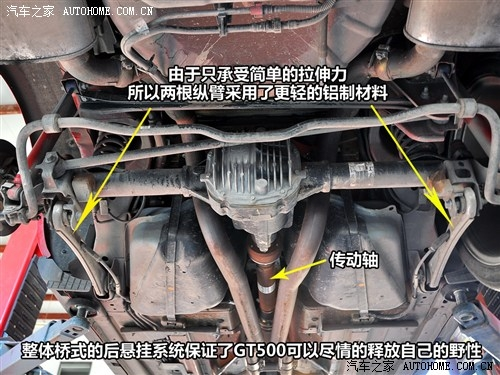 粗犷与豪迈 福特野马GT500底盘解析(2)