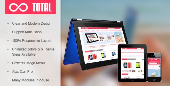 SM Total - Responsive Multi-Purpose Magento Theme